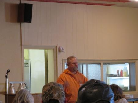 Guest Speaker - ATVAM (ATV Association of Minnesota) - President George Radke. He also brought along 1st Vice President, Bob Jacobson