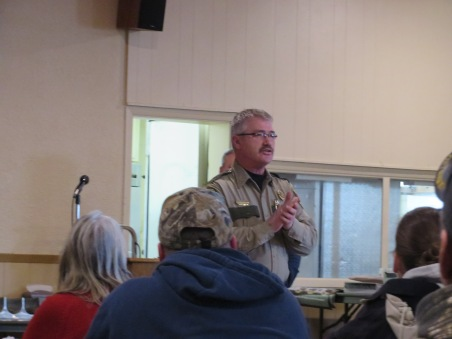Guest Speaker - DNR Conservation Officer & DNR Safety Youth Trainer, Jeff Halverson from Staples, MN